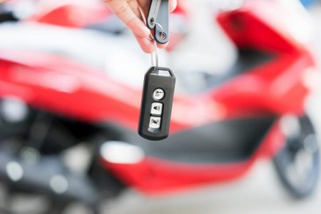 Smart Remote for motorcycle